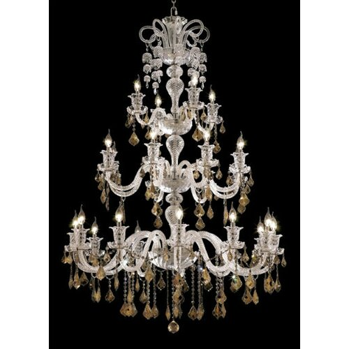 Elizabeth 24 Light Chandelier