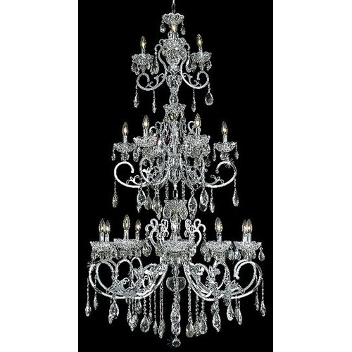 Elegant Lighting Aria 19 Light  Chandelier