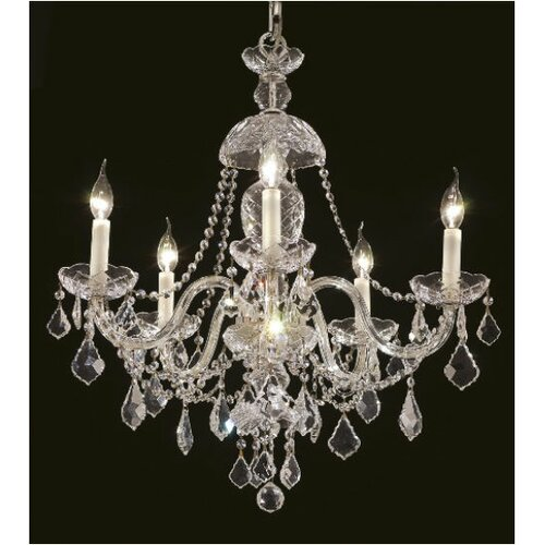 Elegant Lighting Alexandria 5 Light Chandelier