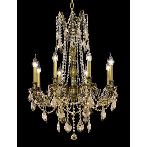 Elegant Lighting Rosalia 8 Light Chandelier