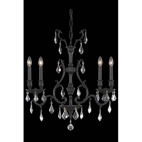 Elegant Lighting Monarch 4 Light  Chandelier