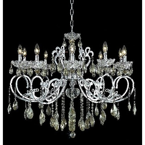 Aria 10 Light Chandelier