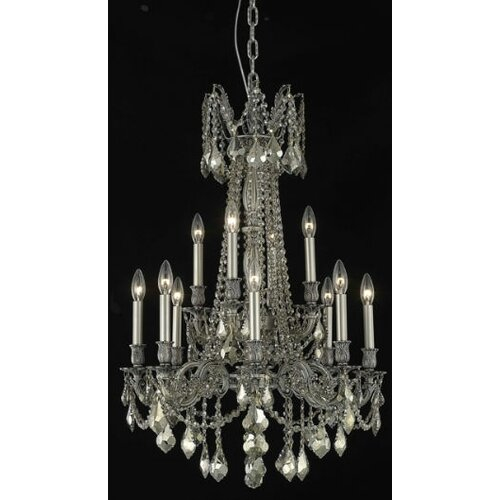 Elegant Lighting Rosalia 12 Light  Chandelier