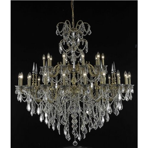 Elegant Lighting Athena 30 Light  Chandelier
