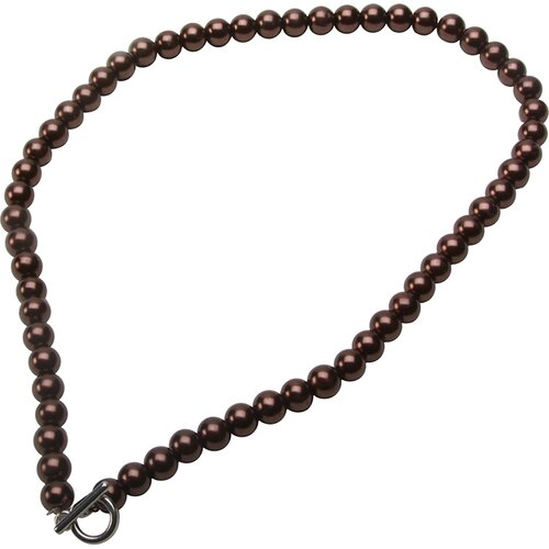 Bret Roberts Glass Cultured Pearl Strand Necklace