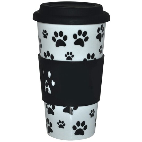 The Premium Connection KitchenWorthy Paw Print Insulated Tumbler