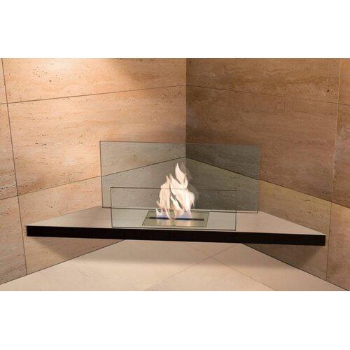Radius Design Corner Flame Ethanol Fireplace