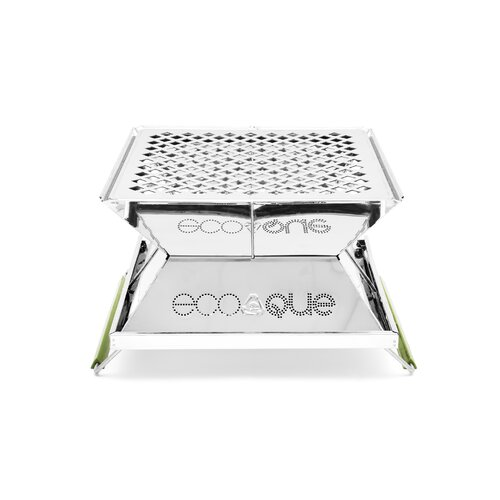 "EcoQue Portable 15"" Stainless Steel Grill"
