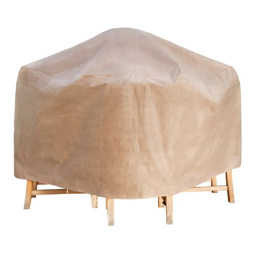 Duck Covers Square Patio Table & Chair Set Cover & Reviews