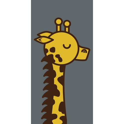 ModTots Animals Giraffe Wall Plaque