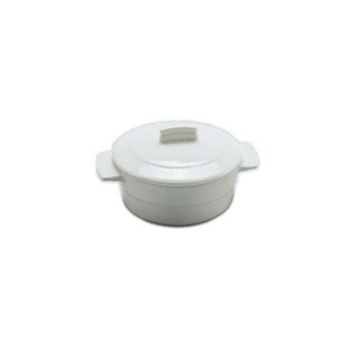 0.19-qt. Solid Porcelain Round Casserole