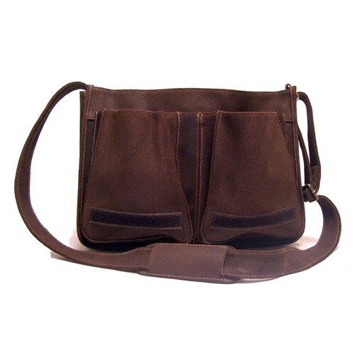 Le Donne Leather Messenger Bag