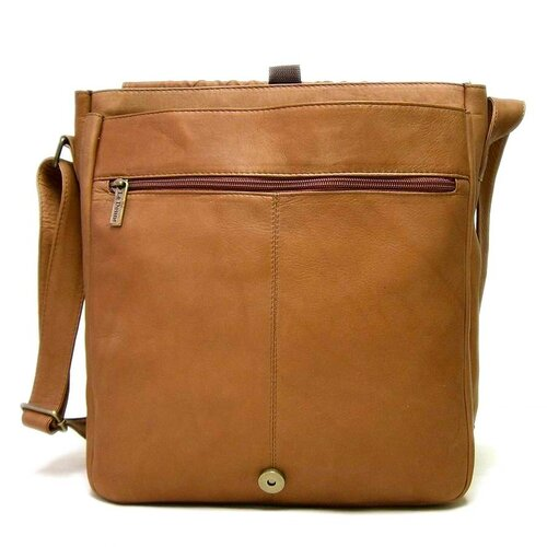 Le Donne Leather Messenger Bag