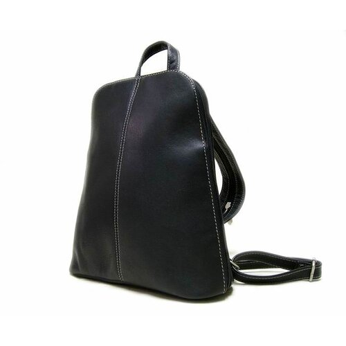 Le Donne Leather U-Zip Sling Backpack