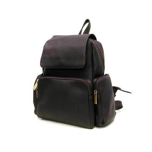 Le Donne Leather Women's Multi Pocket Backpack