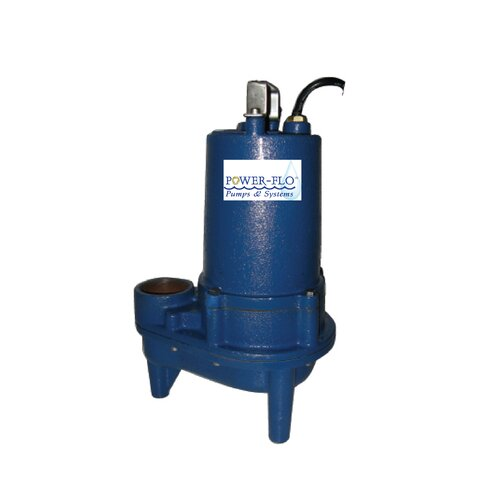 1/2 HP Sewage Submersible Pump with 10.5 Amps Automatic Operation