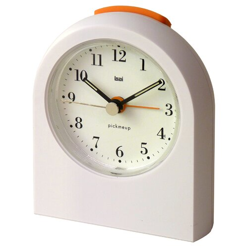 Pick-Me-Up Alarm Clock in Bodoni