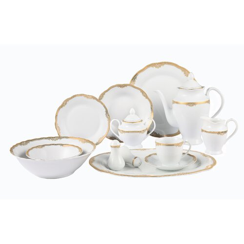 Casa Lorren Catherine 57 Piece Dinnerware Set