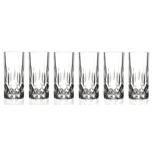 Lorren Home Trends RCR Opera Crystal High Ball Glass