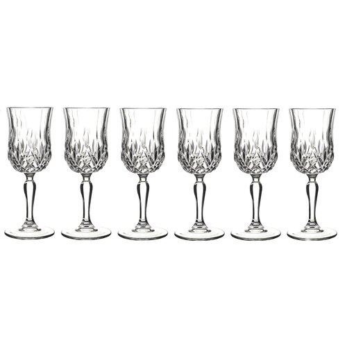 Lorren Home Trends Opera White Wine Glass