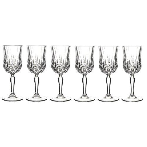 Lorren Home Trends Opera White Wine Glass