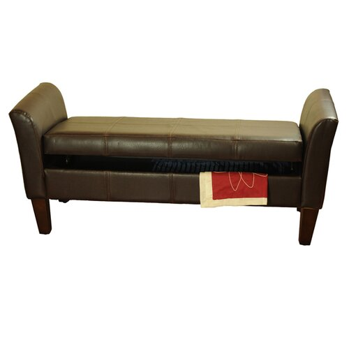 Wildon Home Upholstered Storage Bedroom Bench: HomePop Upholstered Storage Bedroom Bench I & Reviews