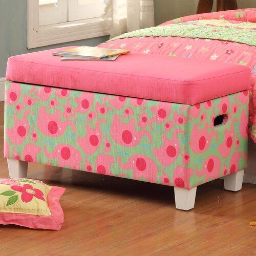 Kinfine Deluxe Upholstered Storage Bedroom Bench
