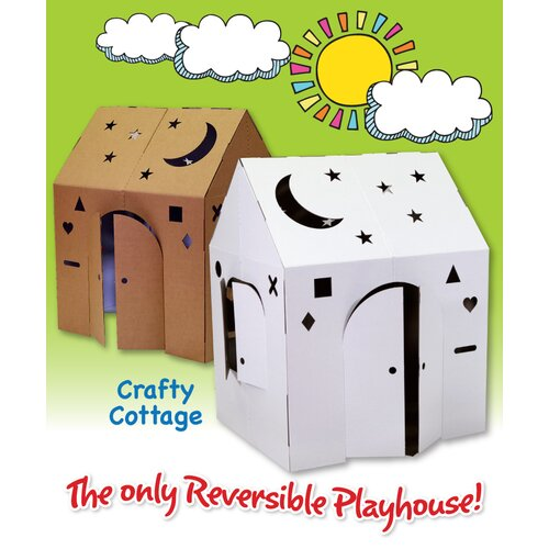 Easy Playhouse Crafty Cottage Playhouse