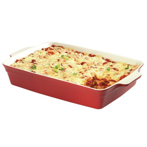 Taste of Italy 3-qt. Stoneware Lasagna Pan