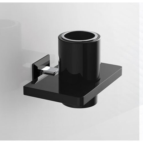 Tumbler Holder with Plexiglass Wall Mounting