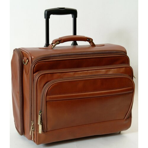 Tuscan Business Class Leather Laptop Briefcase