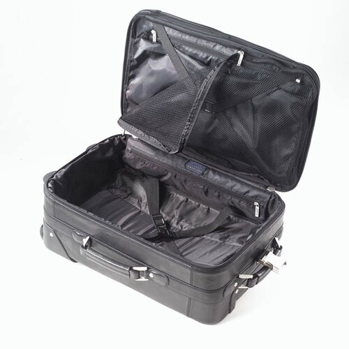 Clava Leather Tuscan First Class Rolling Suitcase