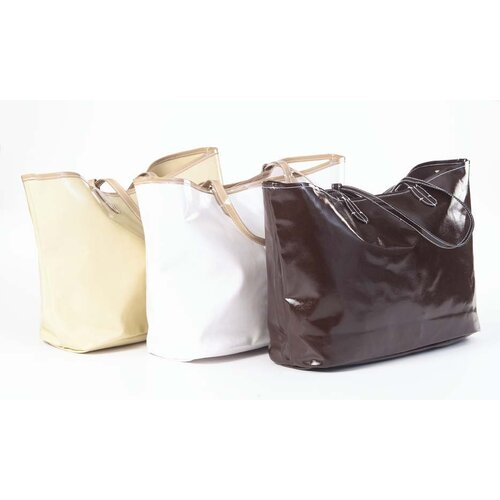 Clava Leather Wellie Market Tote Bag