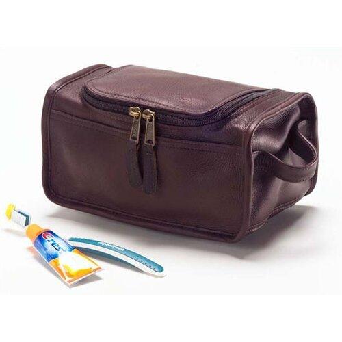 Vachetta Shaving / Cosmetic Travel Case