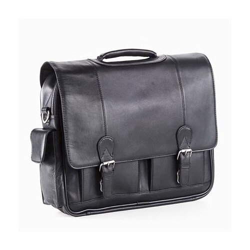 Quinley Leather Promo Laptop Briefcase