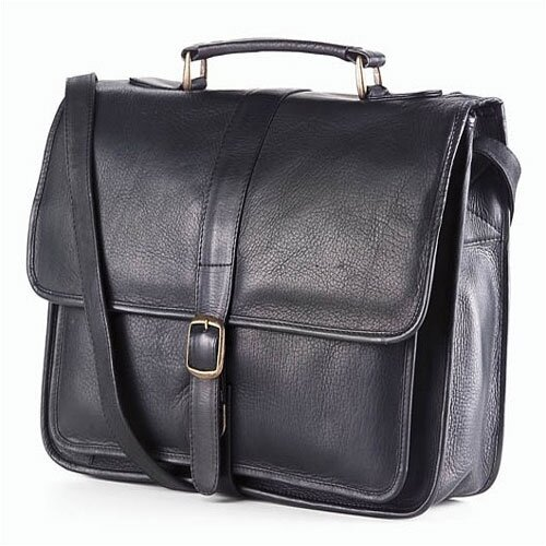 Clava Leather Vachetta Professional School Leather Briefcase