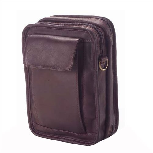 Colored Vachetta Travel Organizer Shoulder Bag