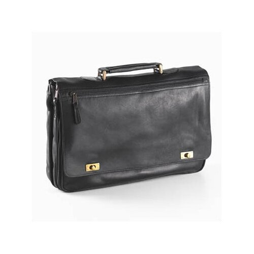 Colored Vachetta Turn Leather Laptop Briefcase