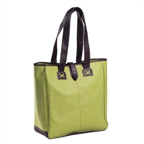 Clava Leather Colored Vachetta Oversized Tote Bag