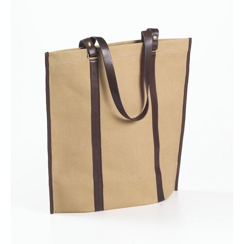 Eco-Chic Canvas Roll-up Tote Bag
