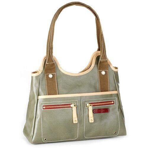 Clava Leather Carina Triangle Tote Bag