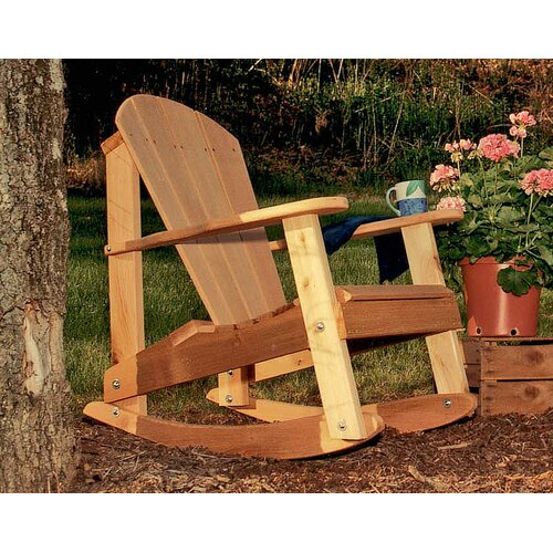 Creekvine Designs Cedar Furniture and Accessories Adirondack Rocking Chair
