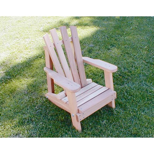 Creekvine Designs Cedar Furniture and Accessories Child Size Wide Slat Adirondack Chair