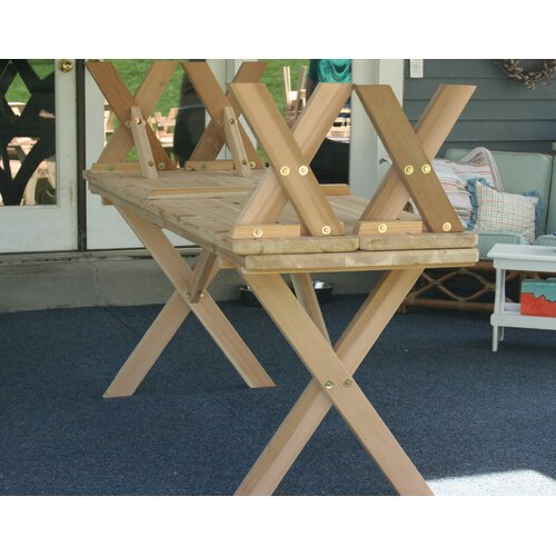 Creekvine Designs Cedar 3 Piece Dining Set