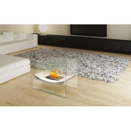 Anywhere fireplaces glass bio ethanol fire pit table for Ethanol outdoor fire pit