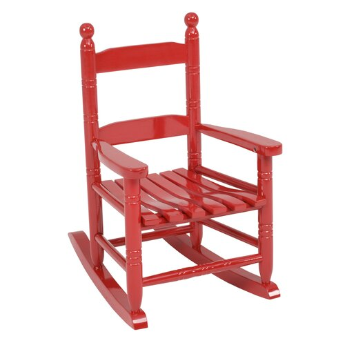 Jack Post Knollwood Children's Rocking Chair in Red