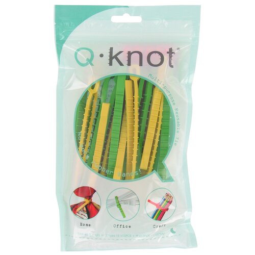 Q Knot 25 Count Q Knot Multi Purpose Reusable Tie