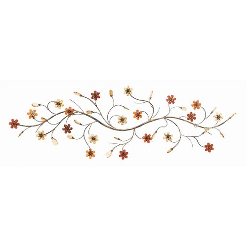 UMA Enterprises Toscana Flower Loaded Twig Wall Décor
