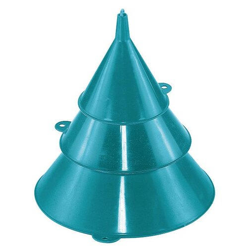 Custom Accessories Products 3 Piece Plastic Funnel Set