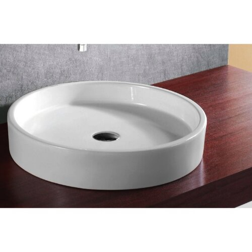 Caracalla Ceramica Round Vessel Bathroom Sink